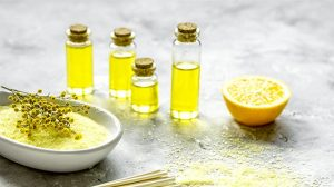 Aceite de germen de trigo para aumentar el busto
